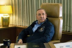 Kevin Spacey • Frank Underwood chillin' in his POTUS jacket