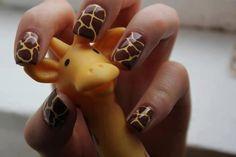 Girafas com garras!! rsss...