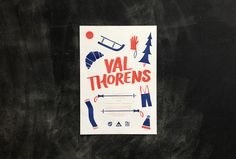 Creative Poster, Val, Thorens, Ski, and Trip image ideas & inspiration on Designspiration Creative Posters, Cool Posters, Cl Design, Graphic Design, Travel Inspiration, Design Inspiration, Design Process, Skiing, Typography