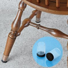 Exceptionnel Take The Side Street: {Quick Tip} Keeping Felt Pads Adhered To Furniture  Legs | How To Be A Domestic Diva | Pinterest | Furniture Legs, Felting And  Legs
