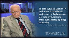 Prof. Strzembosz w #TomaszLis @onetpl @NewsweekPolska pic.twitter.com/O3Ygchapf4