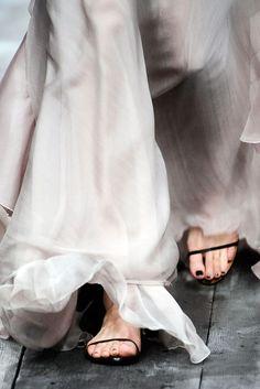 Sheer Silks / Style Inspiration / LANE (instagram: the_lane)