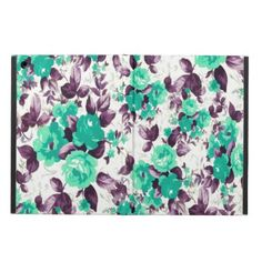 Floral iPad Air Case - girly gift gifts ideas cyo diy special unique