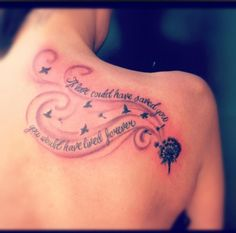 if love could have saved you, you would have lived forever<3 want this quote tattooed