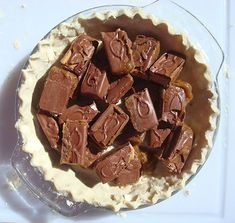 Seeking Sweetness in Everyday Life - CakeSpy - What Happens When You Melt 15 Candy Bars in a PieCrust