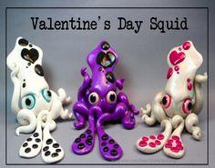 Valentine's Day Squid by ShaidySkyDesign.deviantart.com on @deviantART