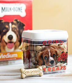 ... DIY Valentine Box for Dogs | Simple Dog Treat box craft #MilkBoneLove #SayitwithMilkBone