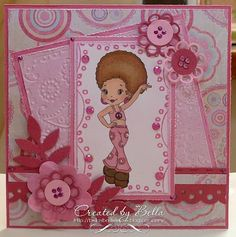 I like the layout and colours on here. Also the flowers and buttons make it not too much tizzy for a older child or teen