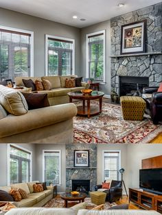 This family room boasts a stone hearth and gas fireplace, tons of natural light, hardwood flooring and open concept to the kitchen and breakfast room. Listed in Vienna Virginia by The Casey Samson Team is a Wall Street Journal Top Team in Northern Virginia.