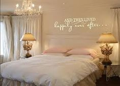 romantic bedroom wall decals - Google Search