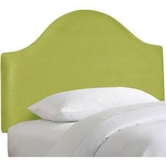 Premier Curved Headboard, Multiple Colors and Sizes, Green