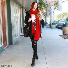 Check out Present Day Parka Lace Legging Look by Lumiere and Milkyway at DailyLook
