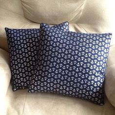 Check out this item in my Etsy shop https://www.etsy.com/listing/451565330/nautical-pillows-anchor-throw-pillows