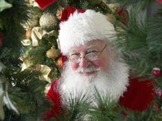 Santa Wishing Merry Christmas