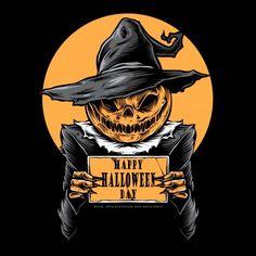 Retro Halloween, Halloween Kunst, Vintage Halloween Cards, Halloween Wishes, Halloween Eve, Halloween Artwork, Halloween Painting, Halloween Stickers, Halloween Pictures