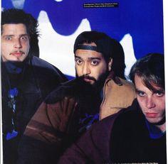 •April, 1994• •London, UK• ©PETE CRONIN #kimthayil #chriscornell #soundgarden #mattcameron #templeofthedog #pearljam #1994