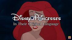 Disney Princesses Sing in Their Original Language