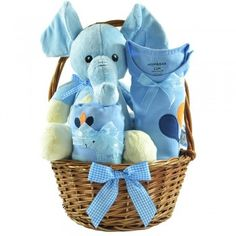 cos cadou baietiplin cu hainute si jucarii Cos, Elephant, Children, Blue, Kids, Elephants, Child, Babys, Babies