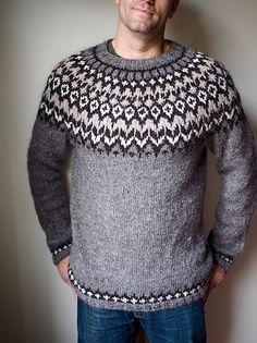 Ravelry: Project Gallery for Riddari pattern by Védís Jónsdóttir Norwegian Knitting Designs, Sweater Cardigan, Men Sweater, Ravelry, Free Pattern, Knitwear, Knitting Patterns, Pullover, Wool