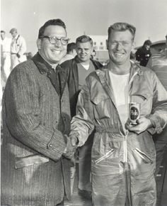 Bill Nocco (left), was the owner of Vineland Speedway