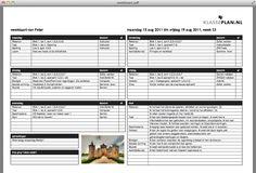 Klasseplan - Hoe werkt het?