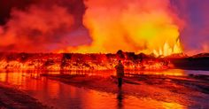 From fiery volcanos to mass protests, these are the images that defined our year. Handpicked by Mashable editors.