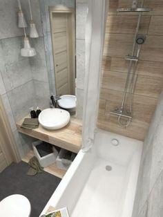 Small Scandinavian bathroom - enjoy the aesthetics of Nordic charm -. - Small Scandinavian bathroom – enjoy the aesthetics of Nordic charm – # aes - Half Bathroom Remodel, Shower Remodel, Bathroom Renovations, Simple Bathroom, Modern Bathroom, Master Bathroom, Bathroom Ideas, Bathroom Organization, Organization Ideas