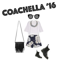 """ENTRY COACHELLA"" by aarithmetics ❤ liked on Polyvore featuring Finders Keepers, Dr. Martens, Quay, Helmut Lang, DIANA BROUSSARD and Monki"