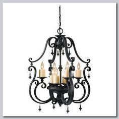 Kings Table Large Traditional Chandelier - Available at GrandLight.com