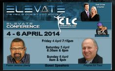Elevate Conference April 2014 Pastor Jerome Liberty and Prophet Ed Traut I Will Show You, Guest Speakers, Guy Names, Point Of View, Conference, Liberty, How To Plan, Life, Pastor
