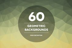 60 Geometric Backgrounds by Theme Trunk on Creative Market
