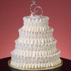 wilton cake design with all buttercreme and royal icing-NO FONDANT! Textured Wedding Cakes, Wedding Cake Fresh Flowers, White Wedding Cakes, Elegant Wedding Cakes, Cupcakes, Cupcake Cakes, Ruffle Cake, Ruffles, Royal Cakes