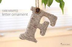 yarn ornaments christmas - Google Search
