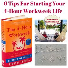 The 4 hour work week doesn't mean you only work 4 hours a week.  It's about organizing your life to free you up to enjoy life, take several mini retirement vacations and outsource.  This way you can do more and work less.  Here's the basic very start of things you can do toward that end.