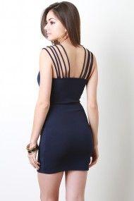 Tantalizing Edge Dress