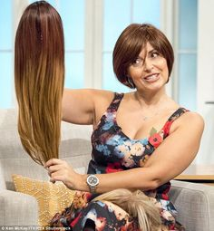 What a lovely story! 'Digging the wig': TV chef Sally Bee calls for people to embrace hair pieces after heart medication causes her to go bald. http://ow.ly/Upbsf