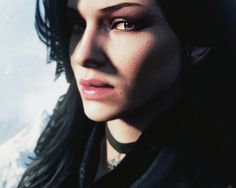 Yennefer of Vengerberg. Witcher 3 Yennefer, Witcher Art, Yennefer Of Vengerberg, Geralt Of Rivia, The Witcher Game, The Witcher Books, Concept Art, Pin Up, 3d Character