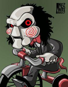 Jigsaw Puppet by CuddleswithCats