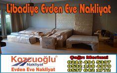 Libadiye Evden Eve Nakliyat - Kozcuoğlu İstanbul Libadiye Nakliye Şirketi