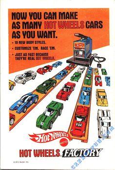 Comic Book back Hot Wheels ad