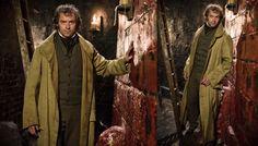 "jakaleidoscope: "" Costume Designs in Les Misérables "" Les Miserables 2012, Jean Valjean, 2012 Movie, Revolutionaries, Military Jacket, Musicals, Costumes, Film, Movies"