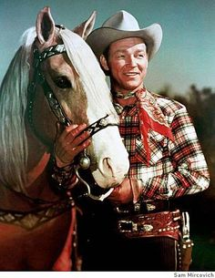 Roy Rogers and Trigger -- Trigger Jr. was a Tennessee Walking Horse