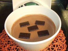As minhas aventuras com a Bimby: Mousse de chocolate de after eight