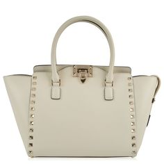 NEW | Valentino | Rockstud Small Double Handle Tote Bag