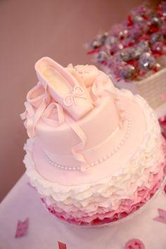My daughter's birthday ballerina cake!!!