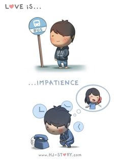 Love can sometimes make me strangely impatient too...  Subscribe to HJS @ http://tapastic.com/series/393 and see more!