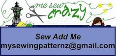 """Oh my gosh, working on some exciting news! To keep updated join the mailing list! Send an email to mysewingpatternz@gmail.com and in the subject say """"Sew add me"""" and just like that you will be added to the mailing list... it really is sew easy! Share this post with friends and family who would love to keep updated too!"""