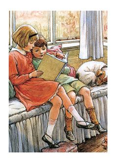 "dippingthepeninapondfullofink: "" Cicely Mary Barker (b : June 1895 – d: February was an English illustrator best known for a series of fantasy illustrations depicting fairies and. Cicely Mary Barker, Reading Art, Kids Reading, Reading Books, Lovers Art, Book Lovers, Flower Fairies, Vintage Children's Books, Children's Book Illustration"