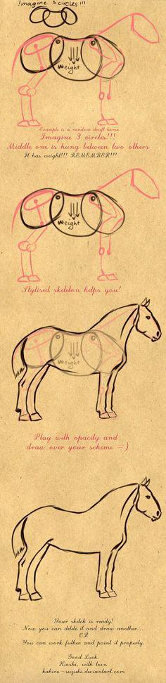 Draft Horse Tutorial ~ Kahiro Suzuki: