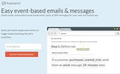 Typography sample: Lato on autosend.io (posted by @andottto) #typography #webfonts #like #modern #clean #email